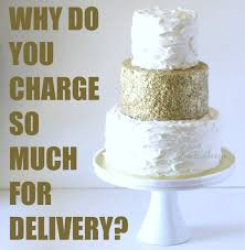 cost of cake delivery