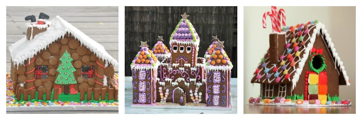Corporate gingerbread gifts and gingerbread houses