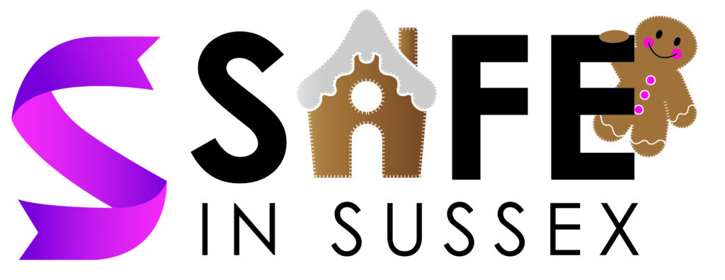 Safe in Sussex Charity gingerbread logo